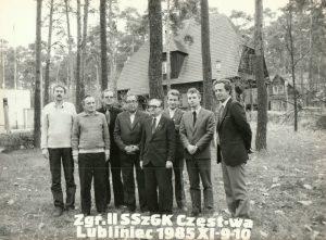 Spotkanie problemistów polskich - Lubliniec 1985
